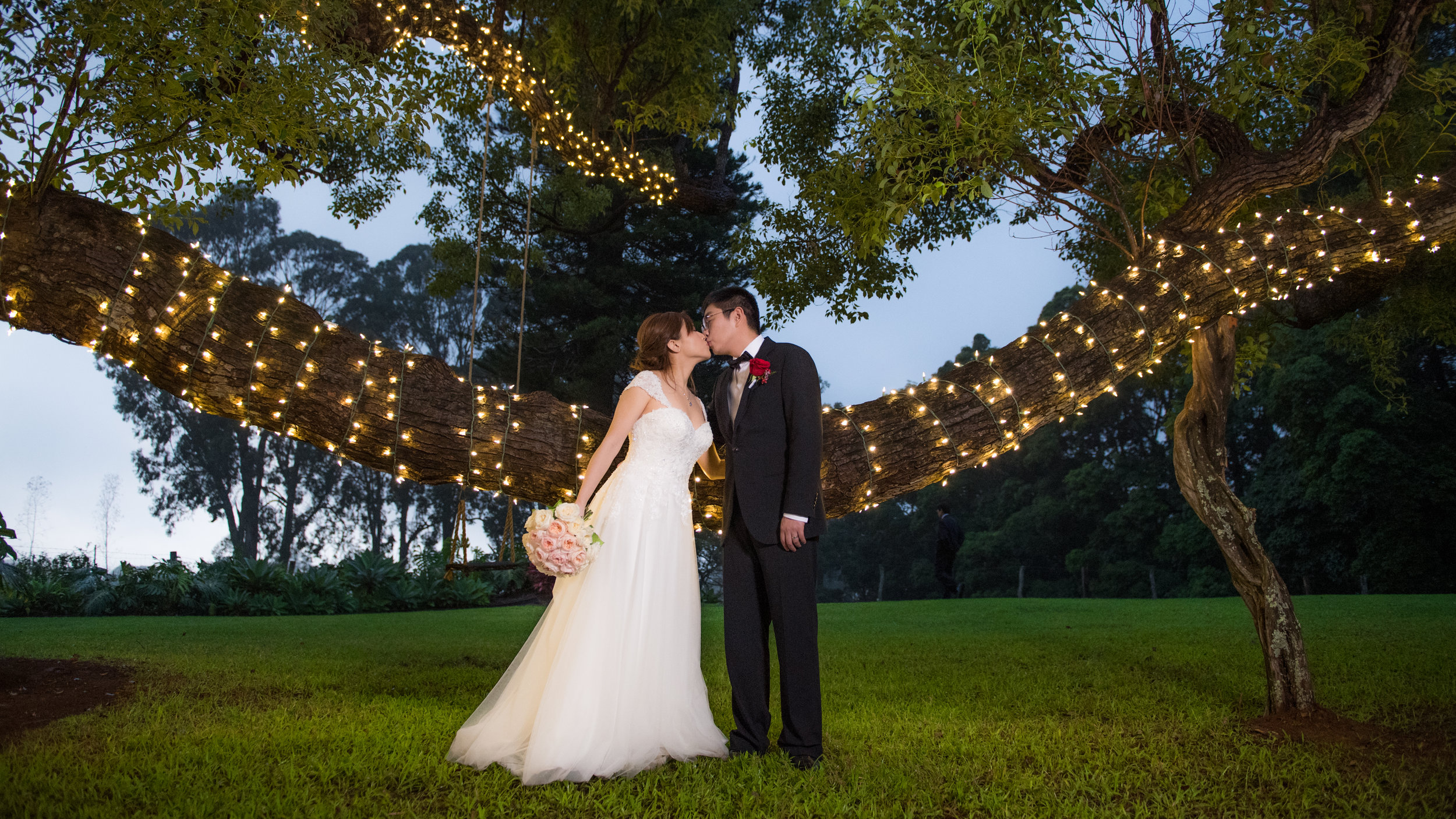 Intimate Countryside Wedding Manyi Bo Bliss Maui