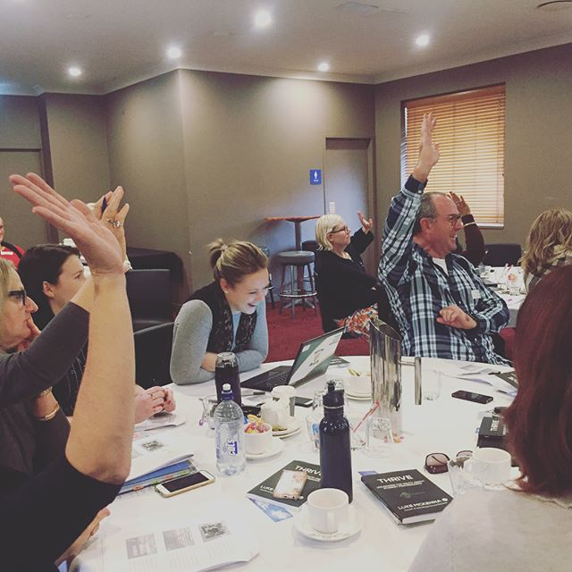 Having a blast with some of the best educators in Brisbane. #girt #leadership #pd #professionaldevelopment #brisbane