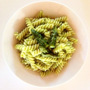 Fusilli with Asparagi