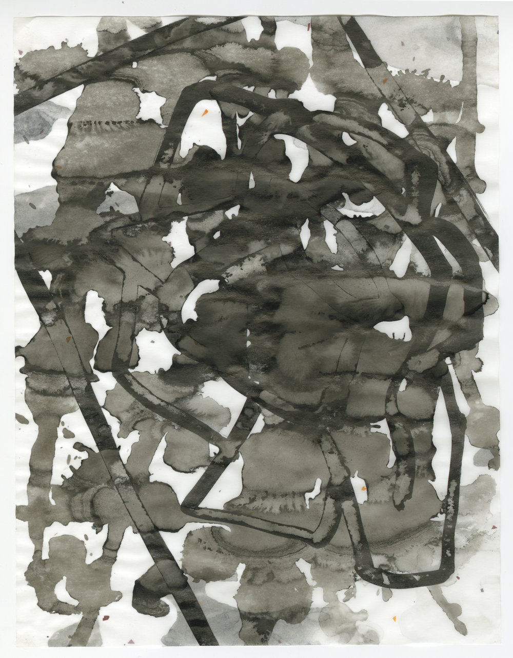 Untitled, ink on vellum, 2013, 11 x 8 ½ inches