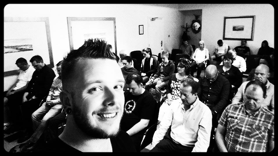 Hypno-Selfie @ Rapid Induction course