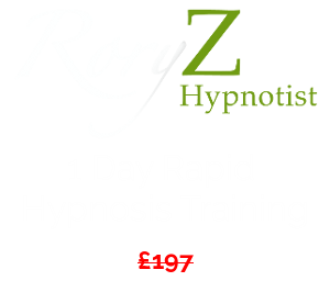 Rory Z Rapid Hypnosis Training Cost