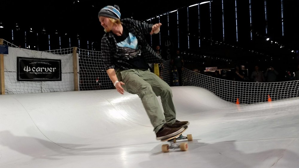 Whitezu Surfskate Urban Wave at ISPO Munich