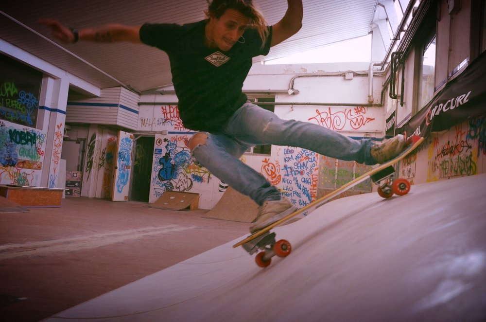 K&K Garage Surf Hut Milano - Surfskate Training