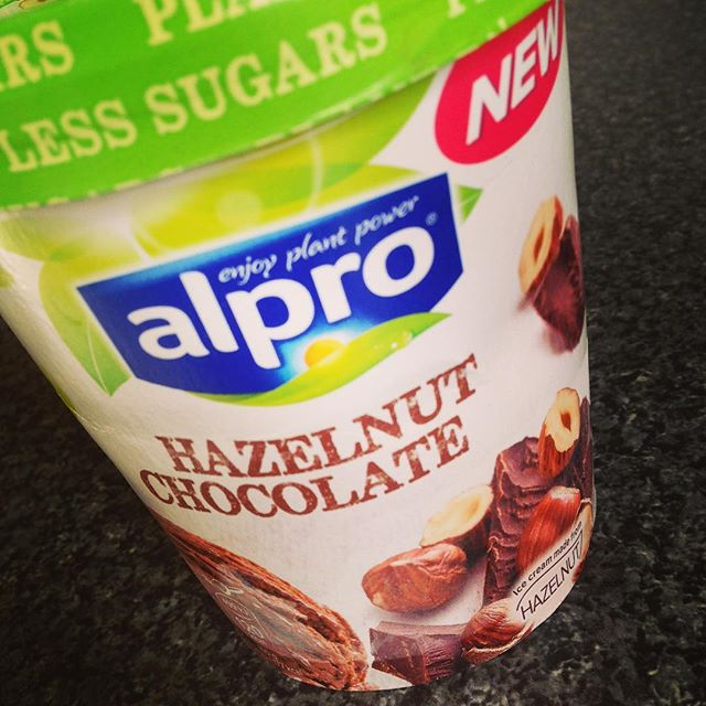 This stuff is AMAZING! #vegan #alpro #hazelnutchocolate