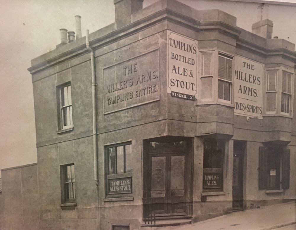 Setting Sun when known as millers arms approx 1920
