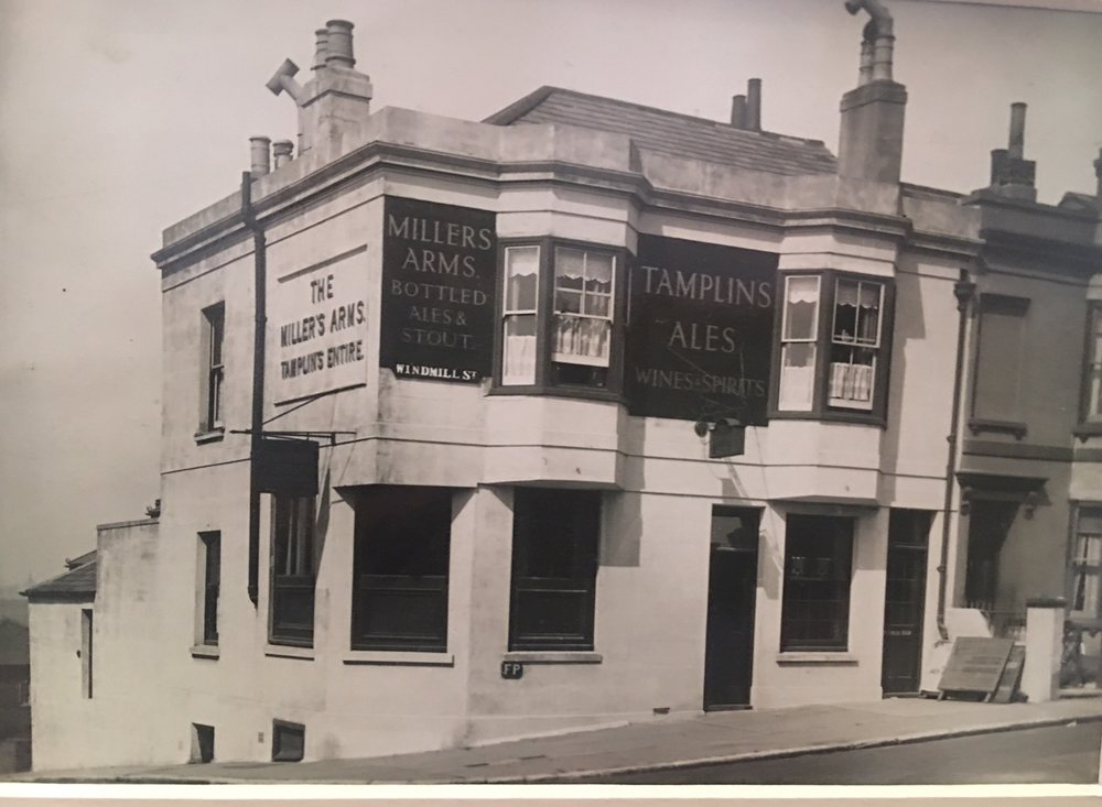 Setting sun known then As Millers Arms approx 1950