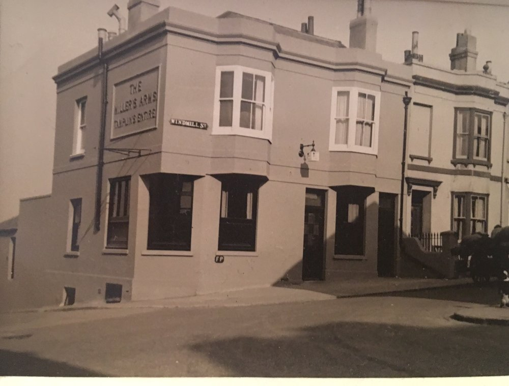 Setting sun known then as Millers Arms approx 1942