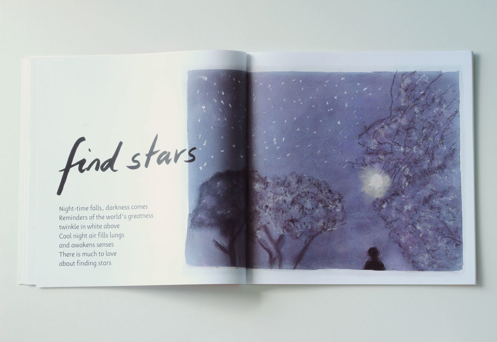 Find Stars, one of the activities suggested in Making MIndful Magic.