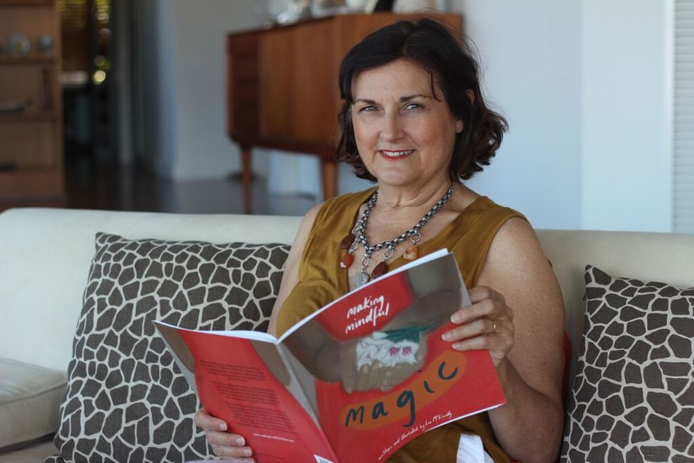 Making Mindful Magic author, Lea McKnoulty