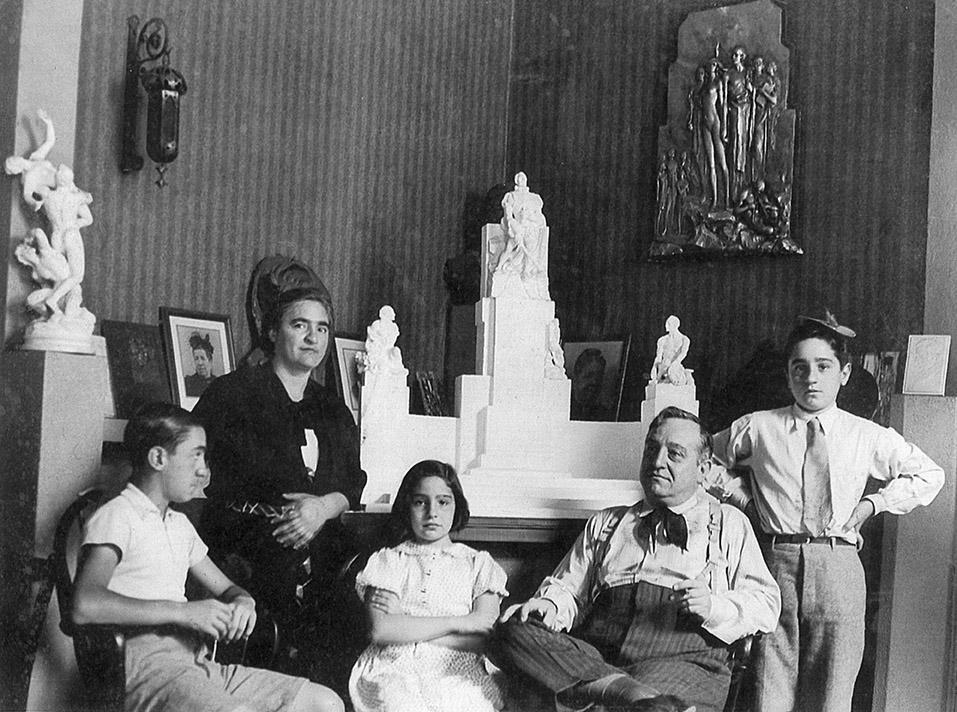 Claudio, María Iommi, Nydia, Santiago Girola y Enio