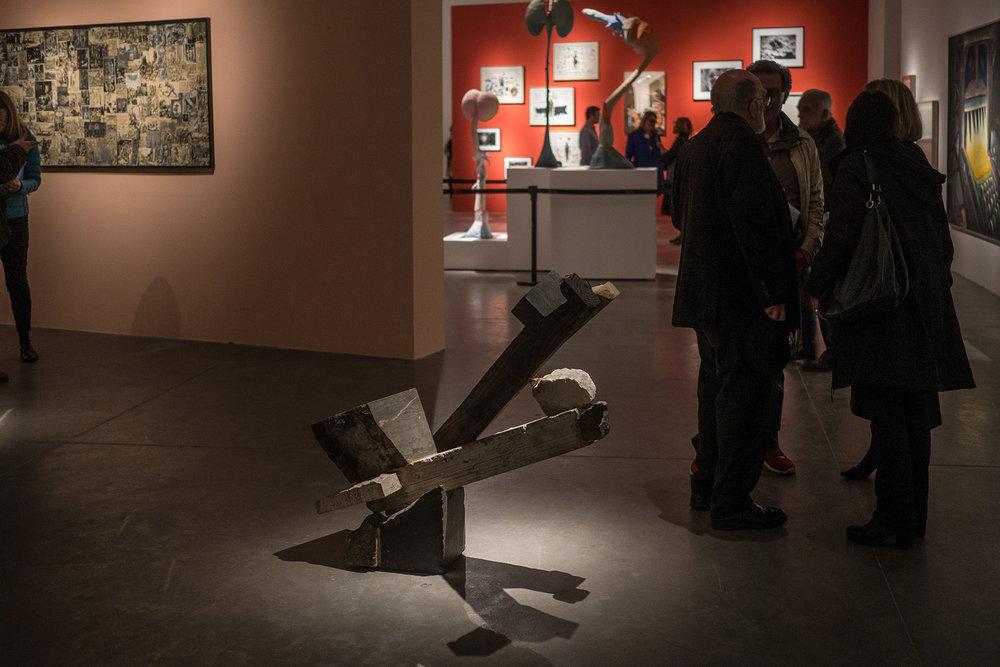 Escultura de Enio Iommi: Sin título, 1984.