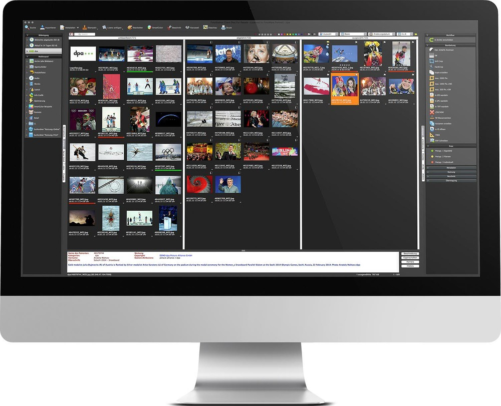 Interface of FotoStation 8.0