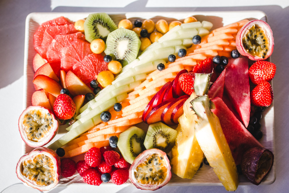 A fresh fruit platter at One&Only Cape Town