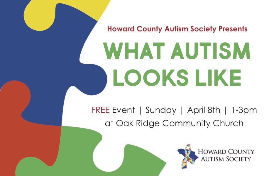Howard County Autism Society Event.jpg