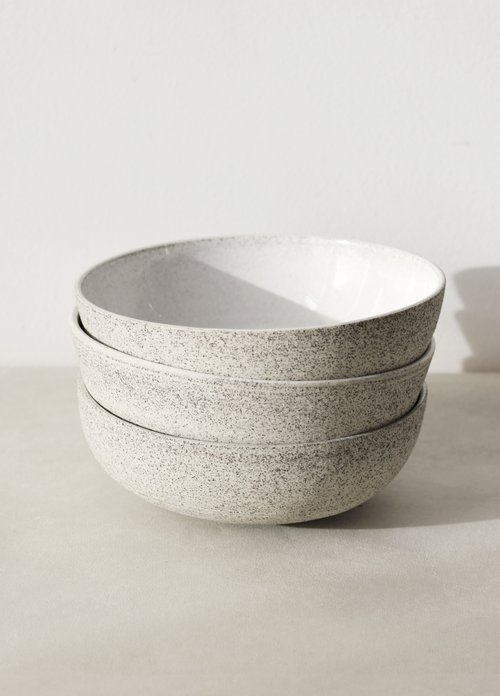 Soup Bowl  Wheelthrown black sand stoneware from Natalie Weinberger Ceramics.