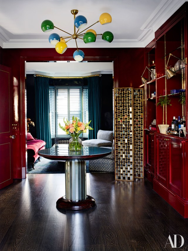 GLOSS! Yes, lacquer everything people! The shining is upon us. - Picture by Simon Upton, Poppy Delevigne's House