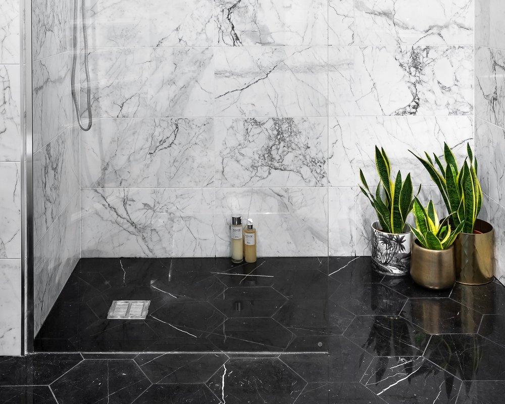 Dramatic Knightsbridge Bathroom Project