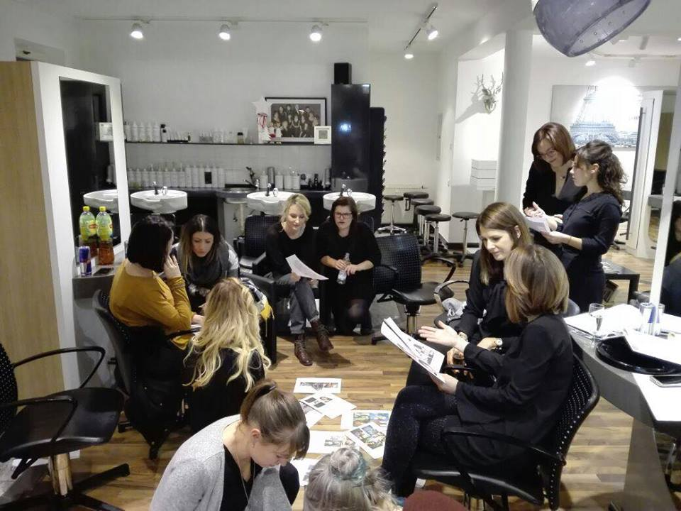 +++ Brainstorming Kollektion/Fotoshooting +++ Bei unserem Kreativteam qualmen heute die Köpfe...