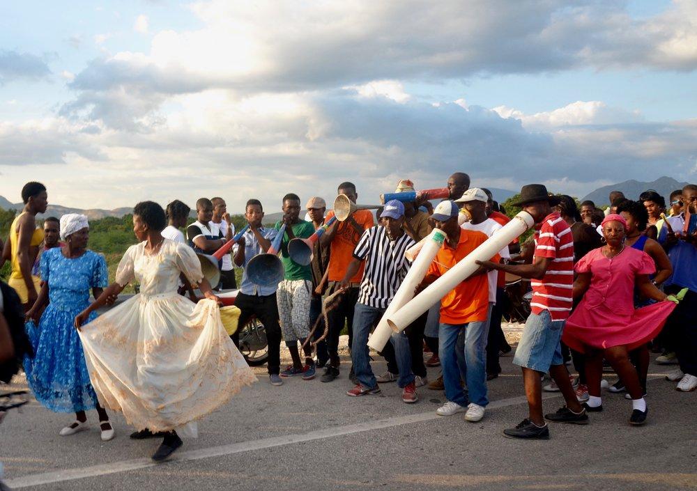 Spontaneous Ra-Ra Festival, Haiti