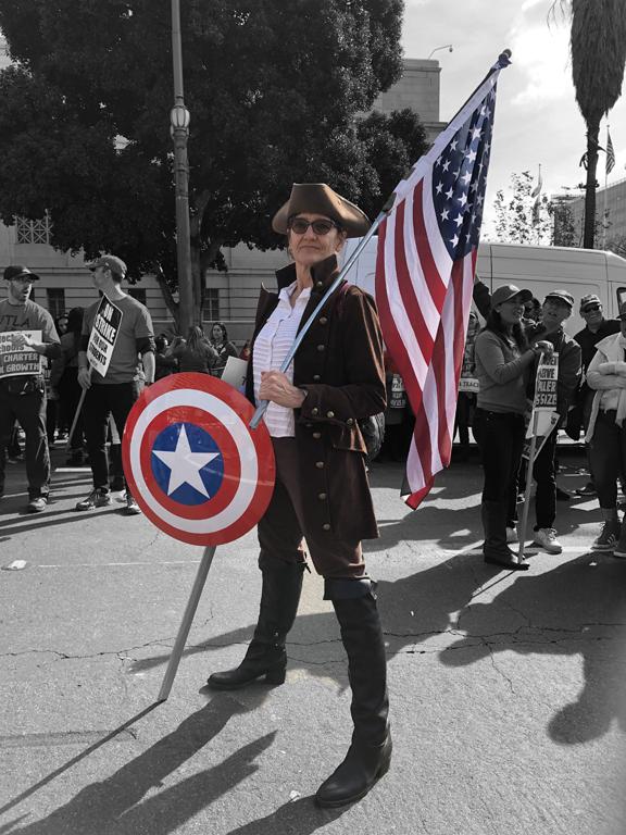 LA Teacher's Strike Patriot