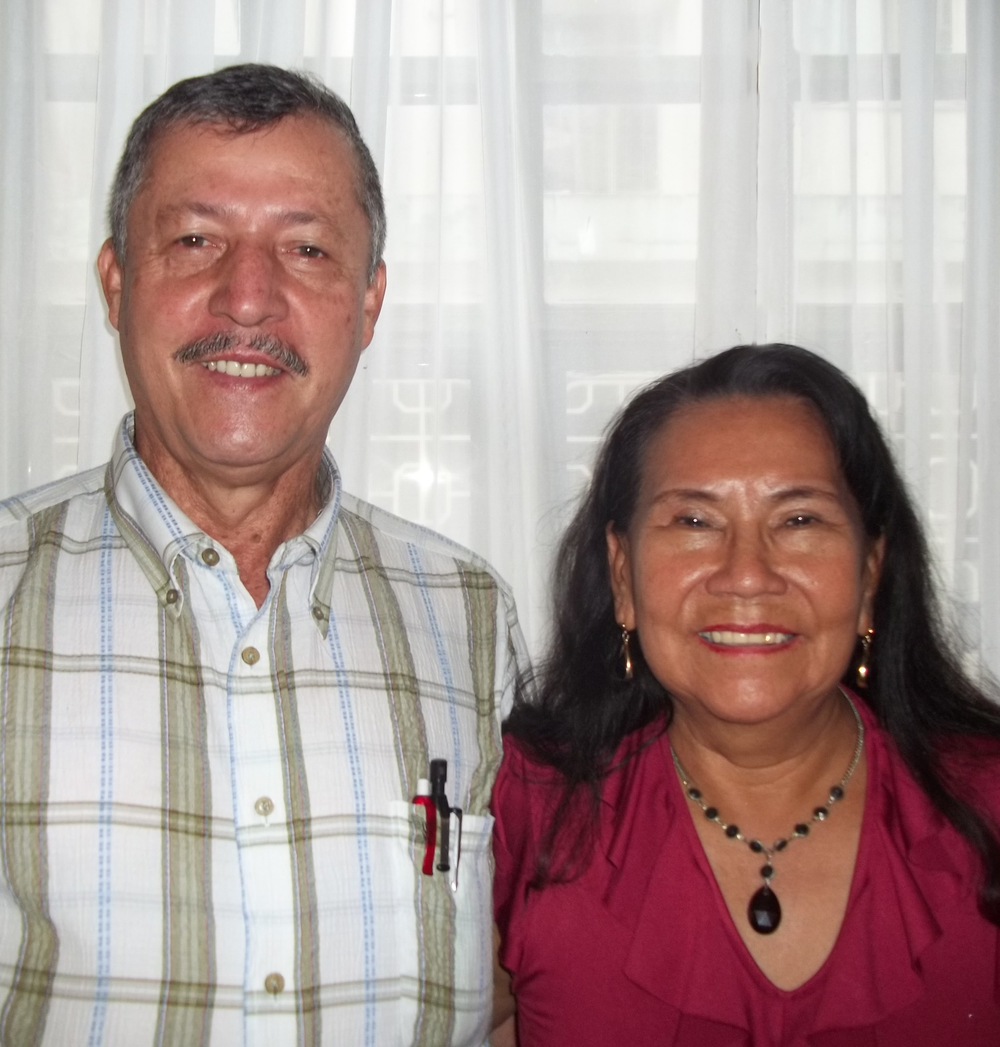 Edgar & Clementina Buenaventura   Affiliated with Wycliffe Bible Translators Serving in Colombia, South America