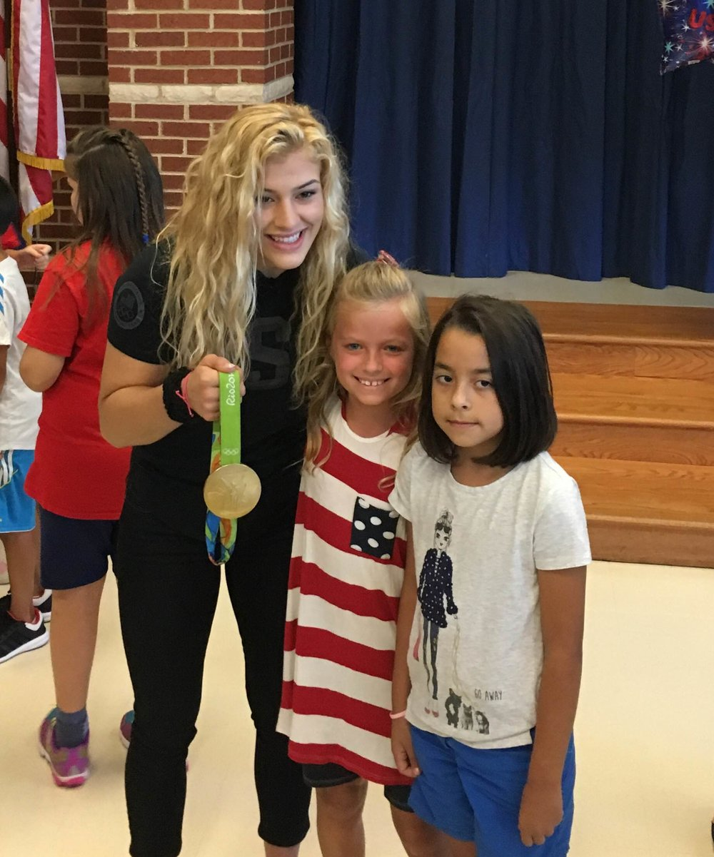 Meeting 2016 Olympic Gold Medalist, Helen Maroulis