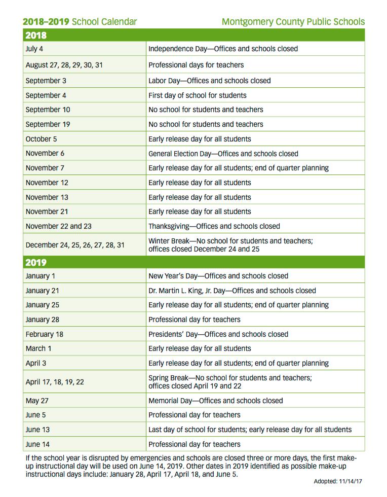 Print full calendar   here