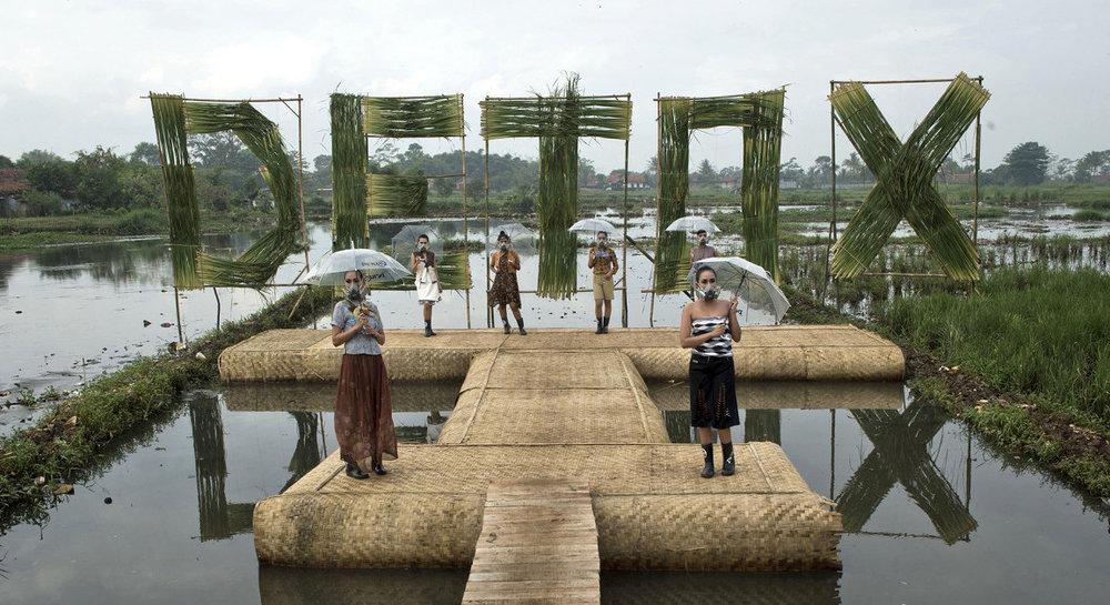 Greenpeace  Detox  catwalk in Bandung, Indonesia
