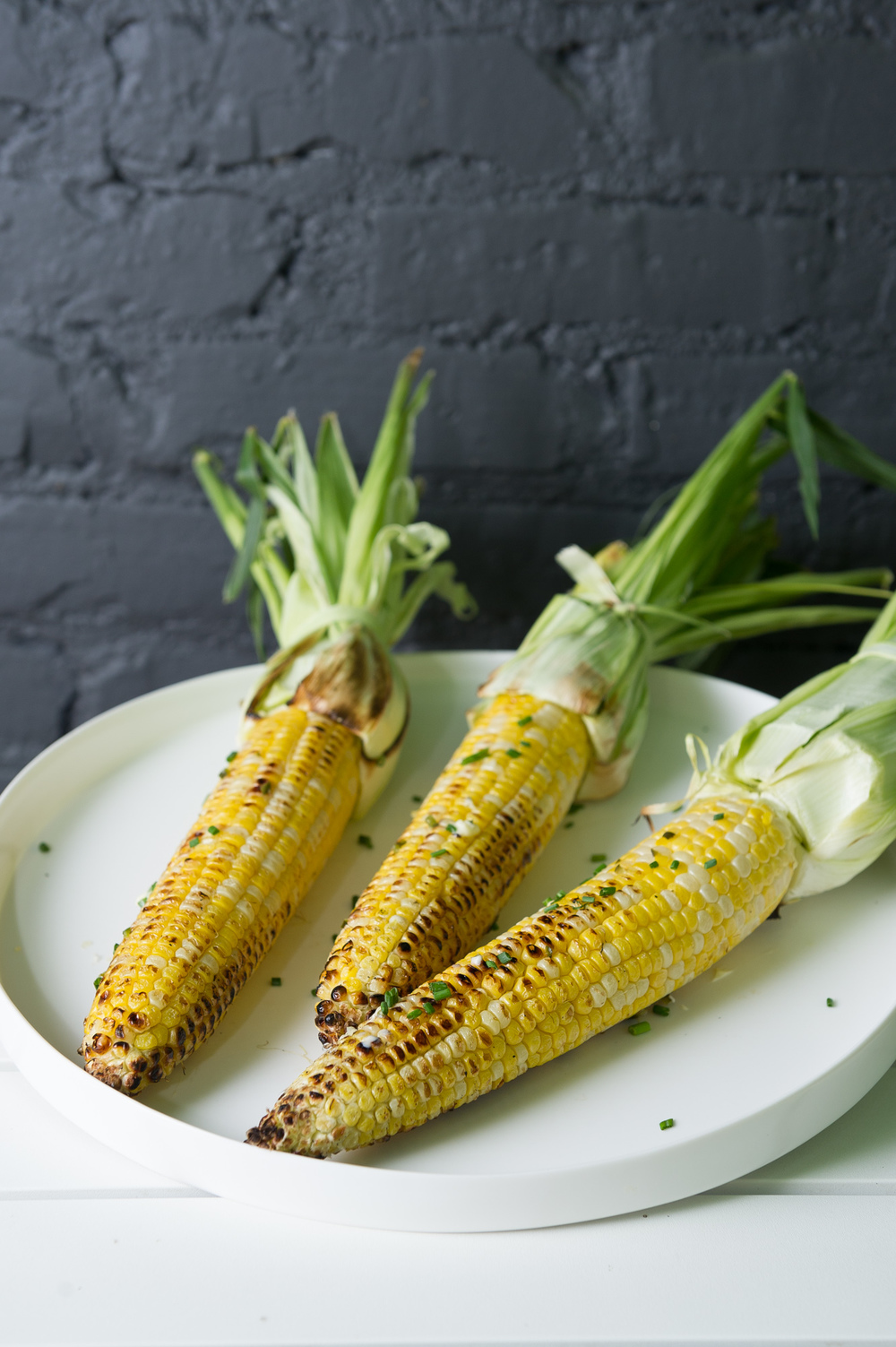Grilled Corn with Jalepeno and Lime Butter
