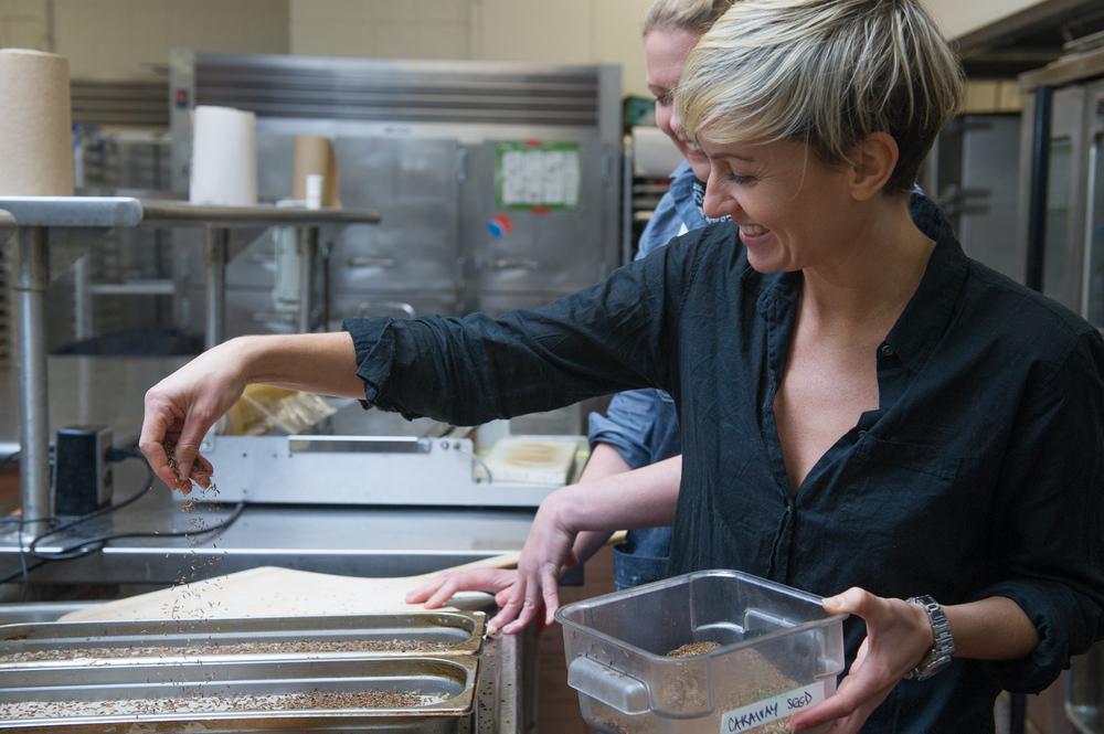 Carissa Waechter of Carissa's Bread