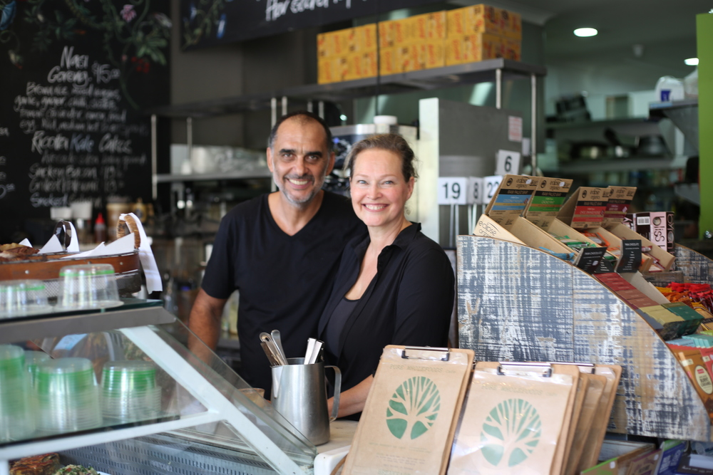 Walter and Dini Rambaldini of Pure Wholefoods Manly Sydney