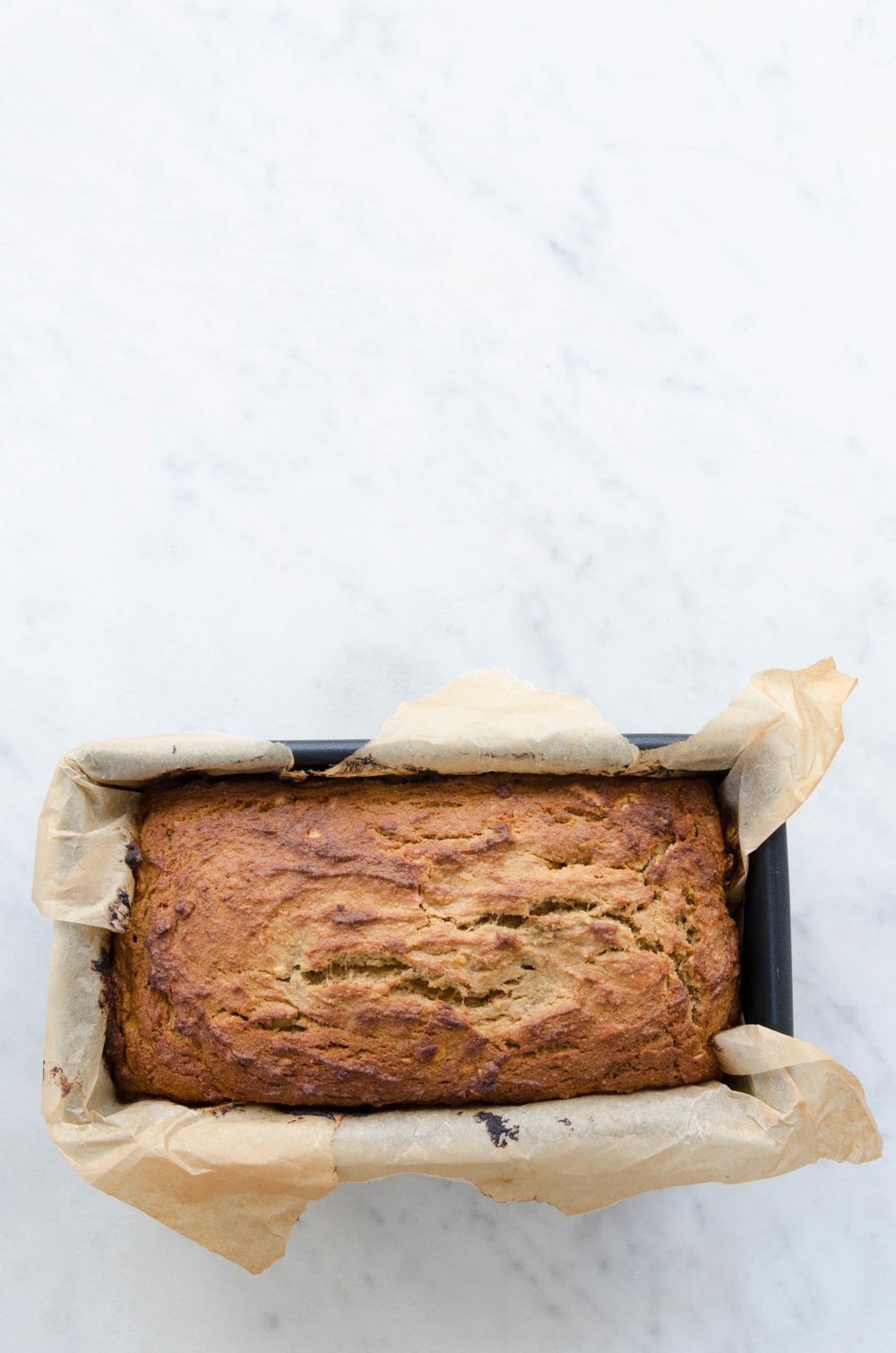 Gluten Free Peanut Butter Banana Bread recipe by Eat Real Food
