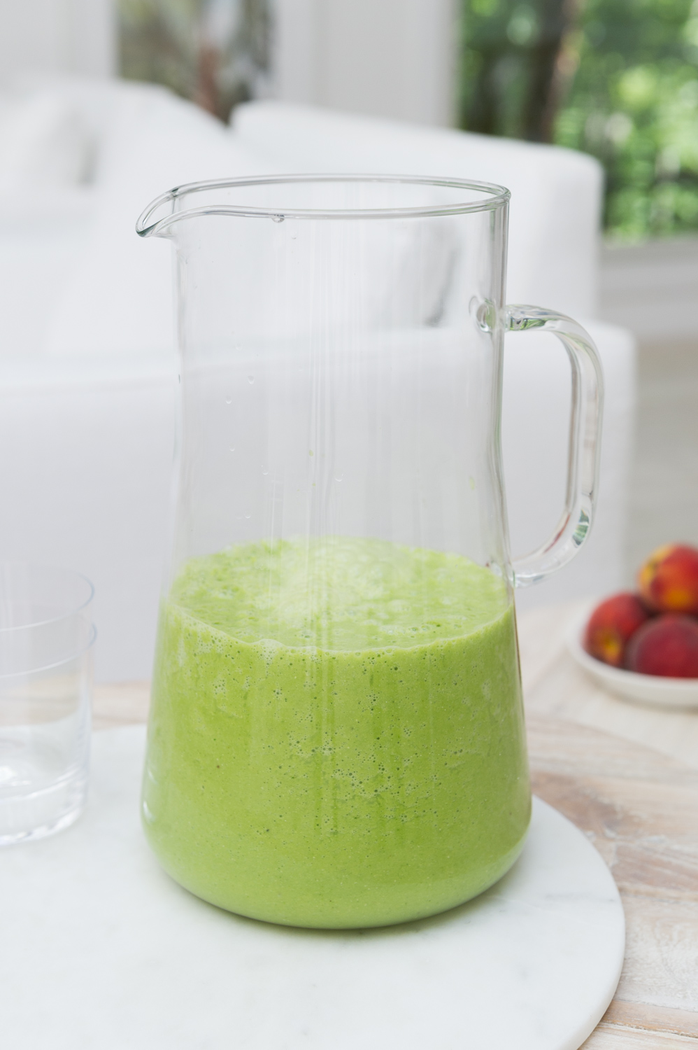 Spicy Citrus and Herb green smoothie recipe by Heather Cox of Eat Real Food