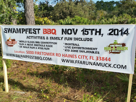 Swampfest is right around the corner! Wee-doggies!