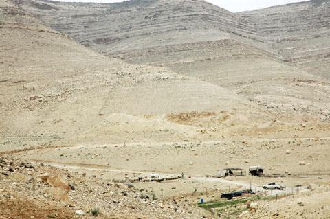Road in the Wadi al-Hasa