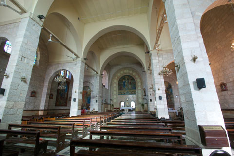 Church of John the Baptist, interior.