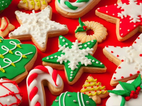 Christmas cookies, image from here.