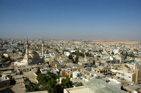 View to Amman.