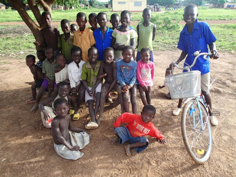 Kids in Gulubi.