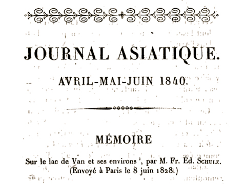 Schulz's notes were published posthumously in the Journal asiatique (1840: 257-323).
