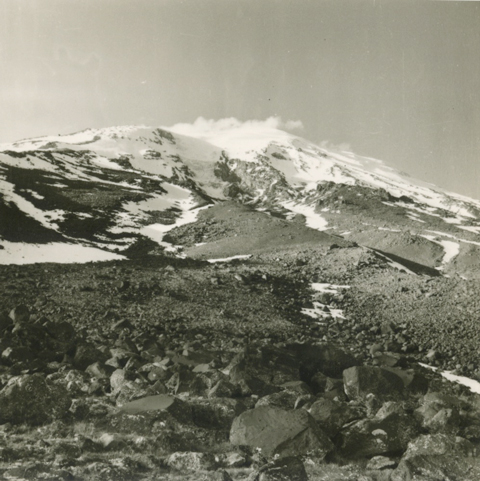 View to the mountain (From the Patterson Collection).