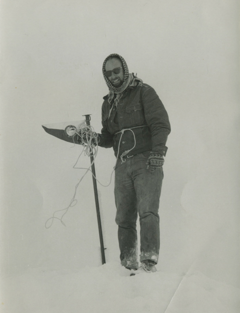 Patterson, the peg, the summit (From the Patterson Collection).