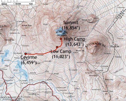 "Mapping the journey – ""It's a round trip. Getting to the summit is optional, getting down is mandatory."" –Ed Viesturs in ""No Shortcuts To The Top: Climbing the World's 14 Highest Peaks""."