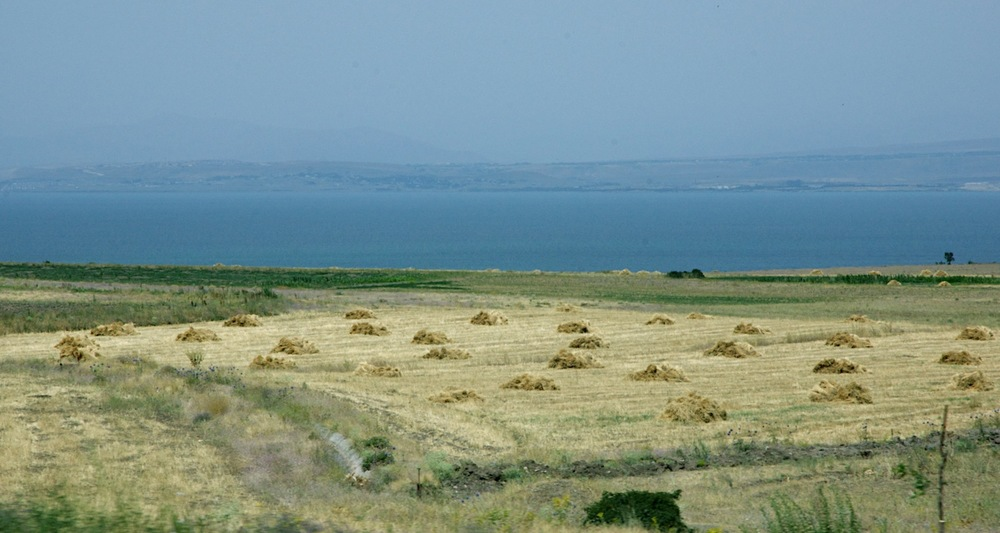 Looking across the Gulf of Ercis (Lake Van).