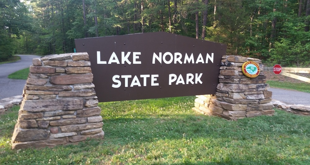 Lake Norman State Park near Troutman, North Carolina, provided a beautiful setting for our course.