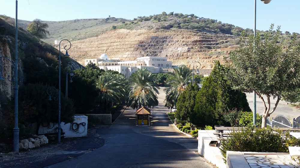 General view to the compound of Nab Shu'ayb.