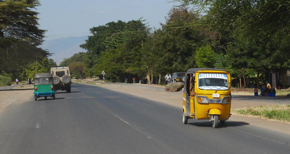 The edge of Mtowambu.