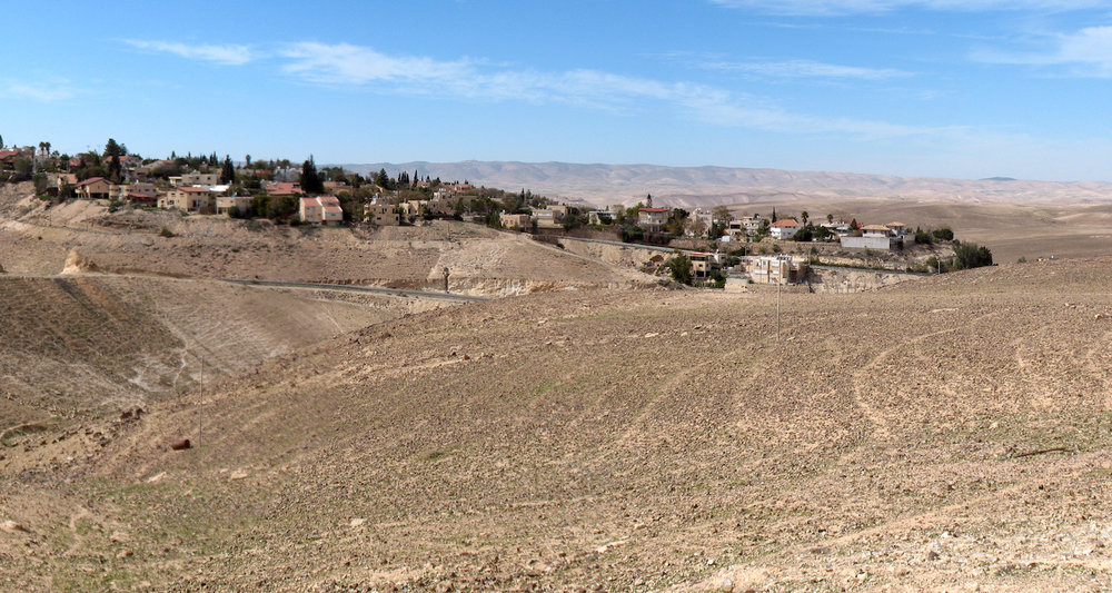 View to the Rotem neighborhood of Arad. Image from  here.