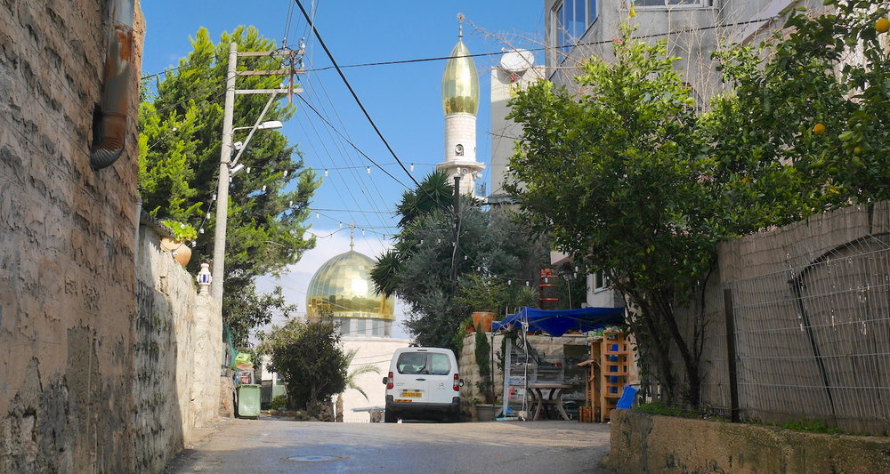 Urban landscapes are an integral part of the Jesus Trail. These offer opportunities to interact with village life and support the local economy. Pictured here is the village of Mashhad, the traditional home of Jonah the Old Testament prophet.